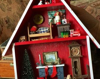 Christmas Diorama Etsy