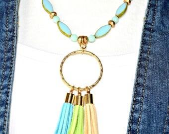 Trendy Tassle Necklace