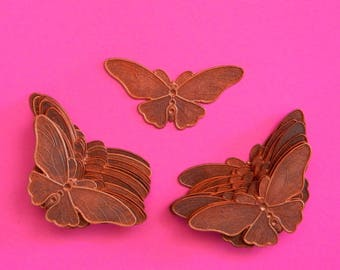 Butterfly stampings