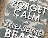 Air Force Card, Basic Training Card, Military Encouragement Card, Military Uniform Card, USAF Card, Navy Card, Army Card, Marines Card