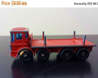 ON SALE Vintage Matchbox Series No. 10 Pipe Truck