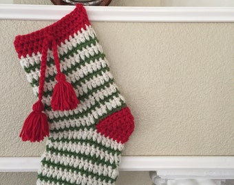 Crochet Cristmas Stocking