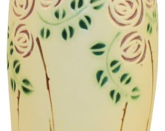 Roseville Pottery Velmoss Scroll Vase 199-8
