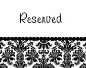 RESERVED FOR PATRICIA Brown Retro Floral Table Runner