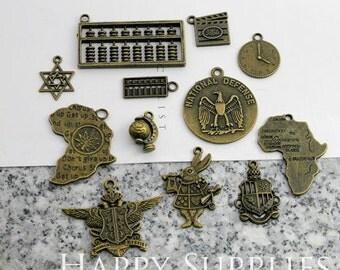 Big Sale -30pcs Small Metal Charm / Metal Part (BS016) -  Clearance Sale