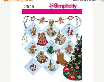 Ornaments  Christmas Decor Multi Patterns--HARD FIND--Uncut Patterns -- 40-70% off Patterns n Books SALE