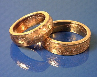 COIN RING - (( Canadian Large Penny )) - (Choose The Ring Size You Want) - Outstanding Detail