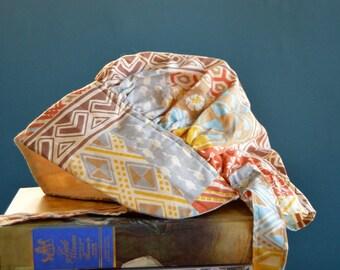Vintage Girl's Pioneer Style Bonnet - Size 5-8