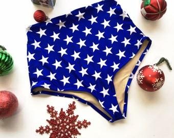 Stars high waist swimsuit bottom