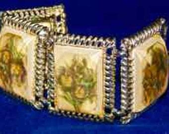 Vintage Unique Chunky Bracelet