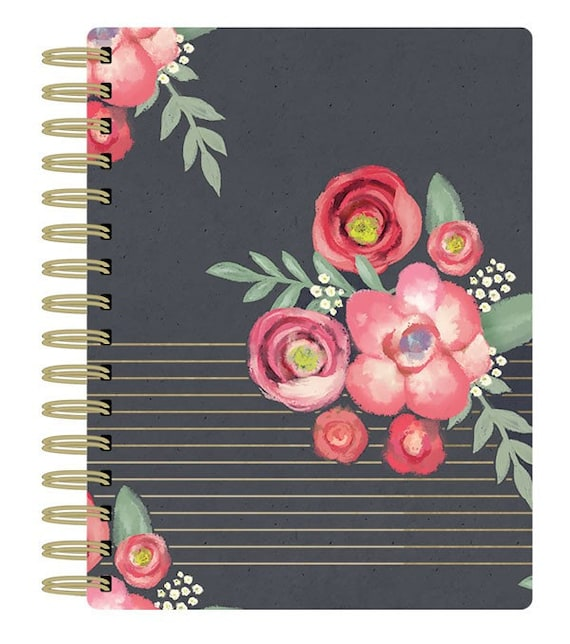 """Everyday Moments Paper House Spiral Bound Planner 7.5""""X8.5"""" (PL-0006)"""