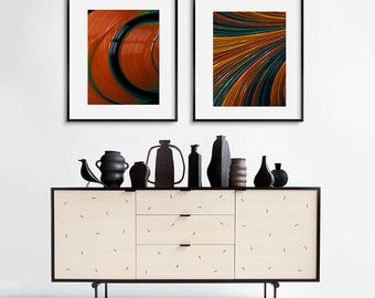 Contemporary Art Prints - GREATER GRACES - abstract wall decor for home or office - colourful wall decor - colorful home accents