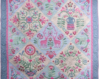 Memories of Gembrook Applique Quilt Patterns and Template Set
