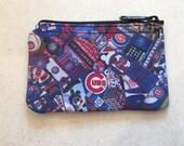 Chicago Cubs Zipper Wallet