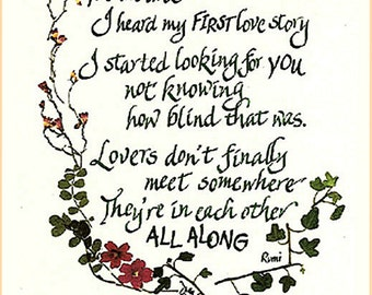 internet dating poems Here's three dating poems to keep you inspired in searching for your right partner sometimes, you just need a little encouragement, hope and loving.