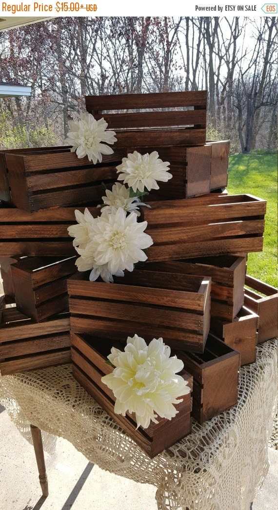 On sale wedding centerpiece flower planter box by