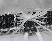 Handmade star wars wedding prom garters darth vader toss garter