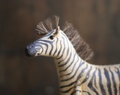 The Pull-Toy Series No. 3 - The Zebra