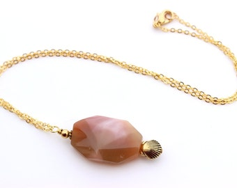 Womens Pink Necklace