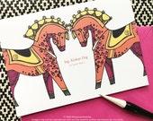 Swedish Love Card - Jag Alskar Dig - I Love You