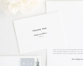 Classic Elegance Thank You Cards