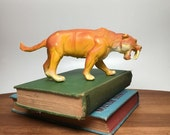 80s Imperial Saber Tooth Tiger Figurine