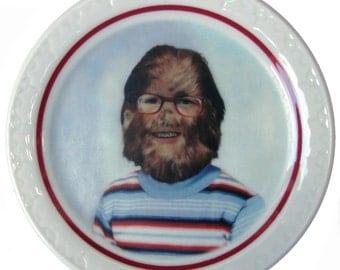 "Stevie the Sasquatch Portrait Plate 5.5"""