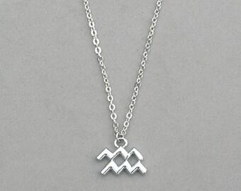 Zodiac Aquarius Necklace