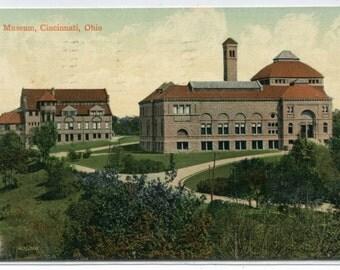 Art Museum Cincinnati Ohio 1915 postcard