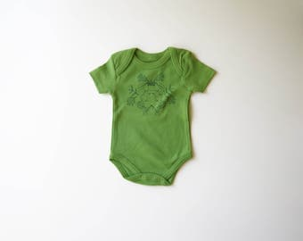 Covet Thee | Organic Baby One Piece | Squirrels | Acorn | Squirrel | Screen Printed | Baby Bodysuit | Unisex | Gender Neutral | Hipster Babe