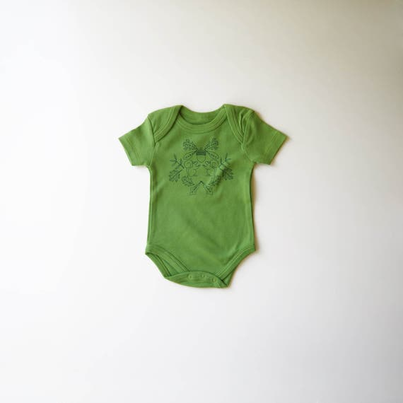 Covet Thee   Organic Baby One Piece   Squirrels   Acorn   Squirrel   Screen Printed   Baby Bodysuit   Unisex   Gender Neutral   Hipster Babe