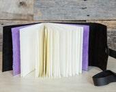 Black leather photo album for Instagram photos, Polaroid pictures, and 4 x 6 prints (READY TO SHIP)