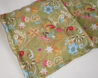 """All Natural Therapy Bags 9""""x16"""" Green"""