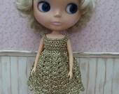 Metallic Blythe Dress