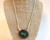 Essential Oil Diffuser Nest Necklace