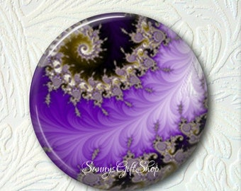 """Abstract Pocket Mirror, Your Choice Of 2 Different Prints, 2.25"""" in Size, Buy 3 Mirrors Get 1 Mirror Free  523"""