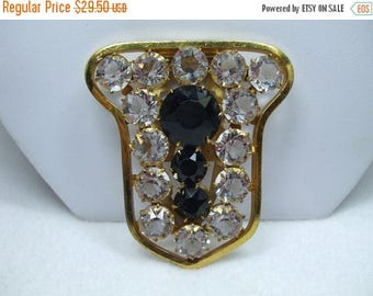 SALE 50% OFF Vintage Rhinestone Scarf or Dress or Clip