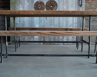 "Reclaimed Wood Conference Table. We make them to size specifications. 84"" l x 34"" w x 30""  tall"