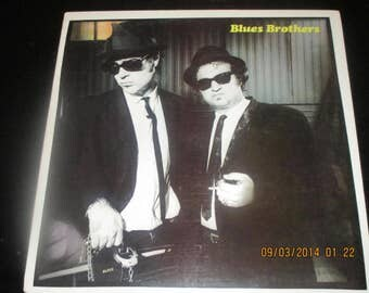 The Blues Brothers VG++ Vinyl - A Brief Case Full OF Blues - Original Soundtrack  - Vintage Record lp in VG++ Condition.