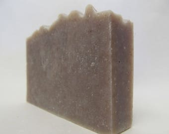 Rock Rose Vetiver Natural Soap, Cut Weight 4 oz, with Organic Ingredients