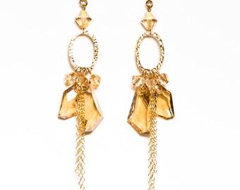 0062 Golden Shadow Crystal Chandeliers