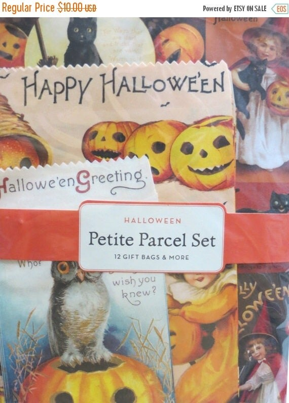 ON SALE Halloween  Paper Pack-Vintage Style