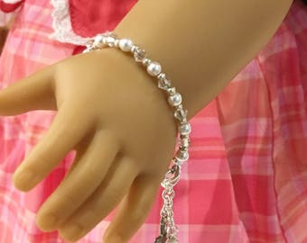 First Communion Bracelet for American Girl