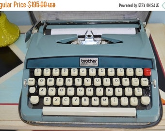 Sale 20% OFF Vtg 60s Brother Opus 888 Portable Manual Typewriter/Case