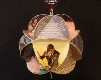 Jackson Browne Album Cover Ornament Made Of Vintage Record Jackets