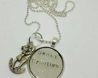 Sweet creature - Harry Styles charm handstamped