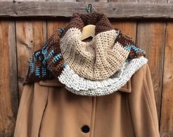 Comfy Combo Crochet Scarf