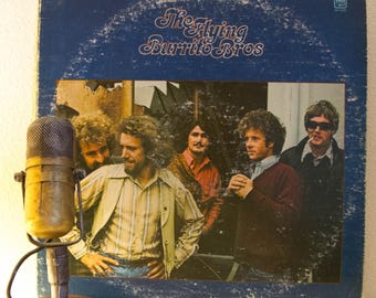"""The Flying Burrito Brothers (ex Byrds members and pre EAGLES members) 1970s Country Rock  """"The Flying Burrito Brothers"""" (1970s A&M Records)"""