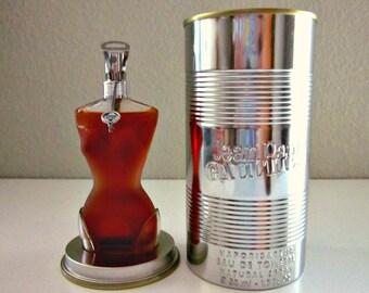 1993 Jean-Paul Gaultier Eau de Toilette Spray. 50 ml - 1.7 Fl. Oz. Made in France, Never Opened - Collectible - Jean Paul Gaultier Classique