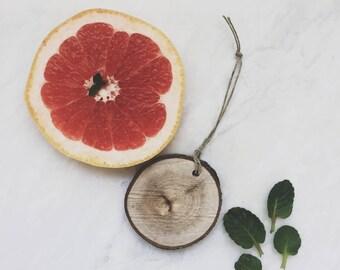 Herbal Scent Diffuser / Reclaimed Wood / Basil Eucalyptus Rosemary Sage / Air Freshener / Car Freshener / Essential Oil Diffuser / Car Scent